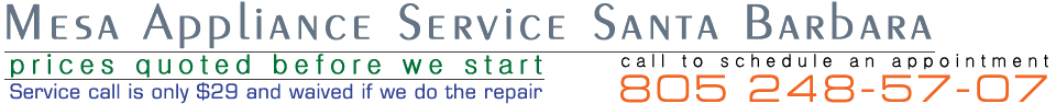 Santa Barbara Appliance Repair